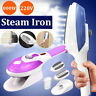 800W Handheld Electric Iron Steam Brush Fabric Laundry Clothes Home Steamer