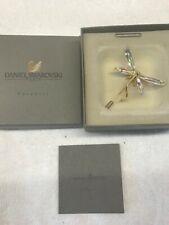 Swarovski Crystal Dragon Fly Stick Pin New