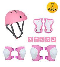 Kinder Protektoren Schutzausrüstung Helm Schonerset Skateboard Fahrrad 3-9 Jahre