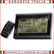 Display KT LCD 24/36/48 Volt - UPG E-BIKE Bici elettrica funz. 3 voltaggi