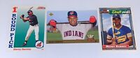 MANNY RAMIREZ 1992- 1993 TOPPS- SCORE- UPPER DECK ROOKIE CARD RC LOT OF 3