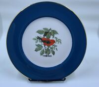 Tanger Bird Fine China Collector Plate by Walter Seibold of Willow Grove PA