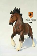 1/6 British Shire Horse Animal Collectible Model Figure Mr.z 12TH Series SH004