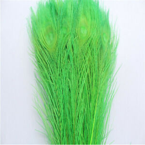 Wholesale 10-500PCS10-12inches/25-30cm Peacock Feather For DIY