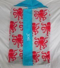 """Pottery Barn Kids St. Tropez Octopus Beach Wrap """"Joel"""" Bath Nwot"""