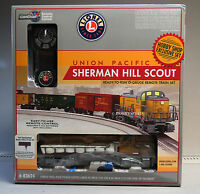 LIONEL UP SHERMAN HILL SCOUT LIONCHIEF REMOTE CONTROL TRAIN SET o gauge 6-83624