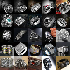 Ring Set Punk Alloy Knuckle Ringe für Frauen 6 PCS Fingerringebgl 4H  YT