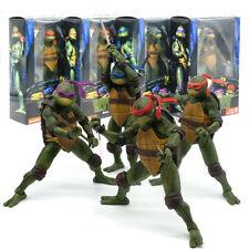 """NECA Teenage Mutant Ninja Turtles 1990 Movie Official 7"""" TMNT Action Figure Sets"""