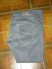 Jeans Pantaloni Pants DONNA PLEASE P78 color marrone Tg. M Baggy