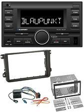 Blaupunkt MP3 USB 2DIN Bluetooth AUX Autoradio für Skoda Fabia Octavia II Rapid