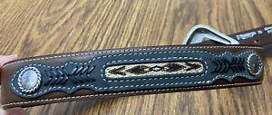 Nocona Western Mens Size 30 Belt Leather N2476044 Cinturón Nocona