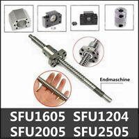 SFU1204 SFU1605 SFU2005/2505 Kugelumlaufspindel&Festlager&Muttergehäuse&Kupplung