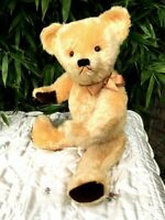 Antique / Vintage 25 inch Large English Teddy Bear 1950's