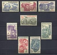 37124) Czechoslovakia 1964 MNH Astronauts 8v