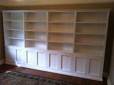 """Concord 1.0"" Integrated Wall Unit Bookshelf Living Room Furniture"
