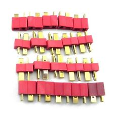 10 pairs T Plug Male Female Connector Deans for quadcopter ESC RC Helicopter E