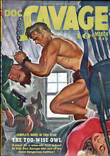 DOC SAVAGE Pulp Magazine Mar 1942 High Grade