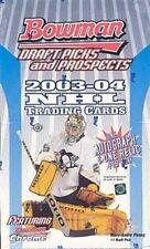 2003/04 Bowman Draft Picks & Prospects NHL Hockey Box