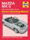 HAYNES WORKSHOP REPAIR OWNERS MANUAL MAZDA MX-5 MX5 MK1 MK2 MK2.5 89 - 05 G - 55