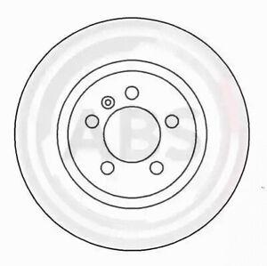 Front Set 2x Brake Discs A.B.S. 16080 for Seat/VW Toledo/Vento/Golf/Passat/Corra
