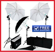 LimoStudio 600 Watt Photography Video Portrait Umbrella Continuous Lighting Kit