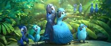 Rio & Rio 2 TWO FILM COLLECTION [DVD-2014,2 DISCS] Region 2. 2X HIGH-FLYING FUN!
