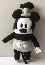 New Disney Store Pook-a-Looz Steamboat Willie Mickey Plush Toy