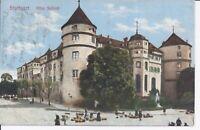 317 Stuttgart Altes Schloss um 1910 Farbig Ansichtskarte  Baden Württemberg