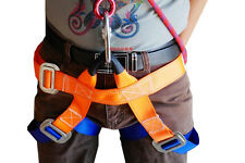 2Pcs Outdoor safety belt hiking altitude belts safety belt harness mountain