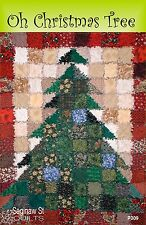 OH CHRISTMAS TREE! QUILT QUILTING PATTERN, from Saginaw St. Quilt Co., *NEW*