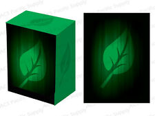 100 LEGION SUPER ICONIC LIFE MATTE DECK PROTECTORS w/ DECK BOX Green MTG Sleeves