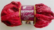 Bernat Super-Hilo de valor sólido de color rojo cereza