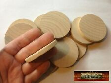 M00789 MOREZMORE 10 Unfinished Round Base Wooden Wood Disk Circle Blank A60