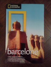 Livre BARCELONE national geographic sites à voir, guide ... NEUF