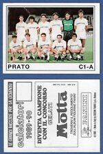 FIGURINA CALCIATORI PANINI 1989/90 - NUOVA - N.529 SQUADRA - PRATO