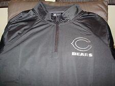 NFL Chicago Bears Nike Platinum Fly Rush 1/4 Zip Golf Wind Jacket Men's Large