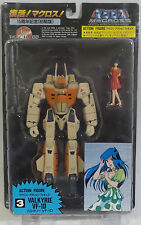 MACROSS : VALKYRIE VF-1D ACTION FIGURE SET MADE BY ARII. NUMBER 3