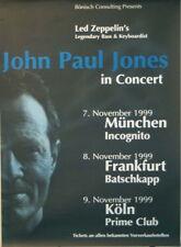 JOHN PAUL JONES CONCERT TOUR POSTER 1999 ZOOMA LED ZEPPELIN