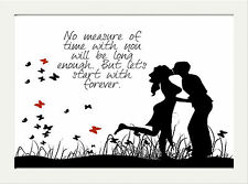 INSPIRATIONAL MOTIVATIONAL QUOTE LOVE FAMILY POSTER PRINT HOME WALL ART