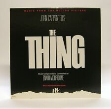The Thing ~ Soundtrack [LP] 1982 MCA-6111 Morricone Excellent!!
