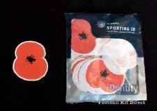Official Rare Poppy Day Football Shirt Patch/Badge Sporting ID Player Issue