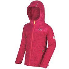 Regatta Kinder Fleecejacke Atomizer Fleece Jacke Kinderjacke pink meliert