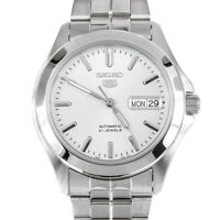 Seiko 5 Automatic White Dial Stainless Steel Men's Watch SNKK87K1 RRP £169