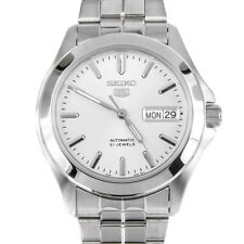 Seiko 5 Automatic Silver Dial Stainless Steel Men's Watch SNKK87K1 RRP £169