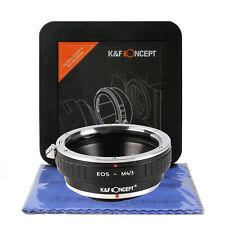 K&F Concept EOS-M4/3 Adapter Canon EF to Micro Four Thirds EF-MFT M43 (KF06.090)