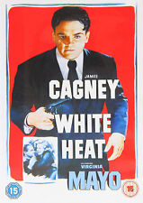 WHITE HEAT DVD James Cagney Virginia Mayo Raoul Walsh Margaret UK Release New R2