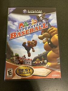 Mario Superstar Baseball (GameCube, 2005) Game & Case - Tested