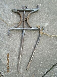 Vintage Garden line String Line & Pin Allotment Seed Drill Tool