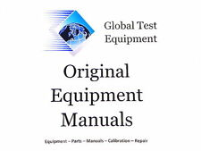 Agilent HP Keysight 00123-99000  -  123A Operating and Service Manual