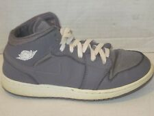 3890e94dbfb8 Nike Air Jordan 1 Mid Retro Kids Sz 6.5 Gray High Top Basketball Shoe Gym  j213